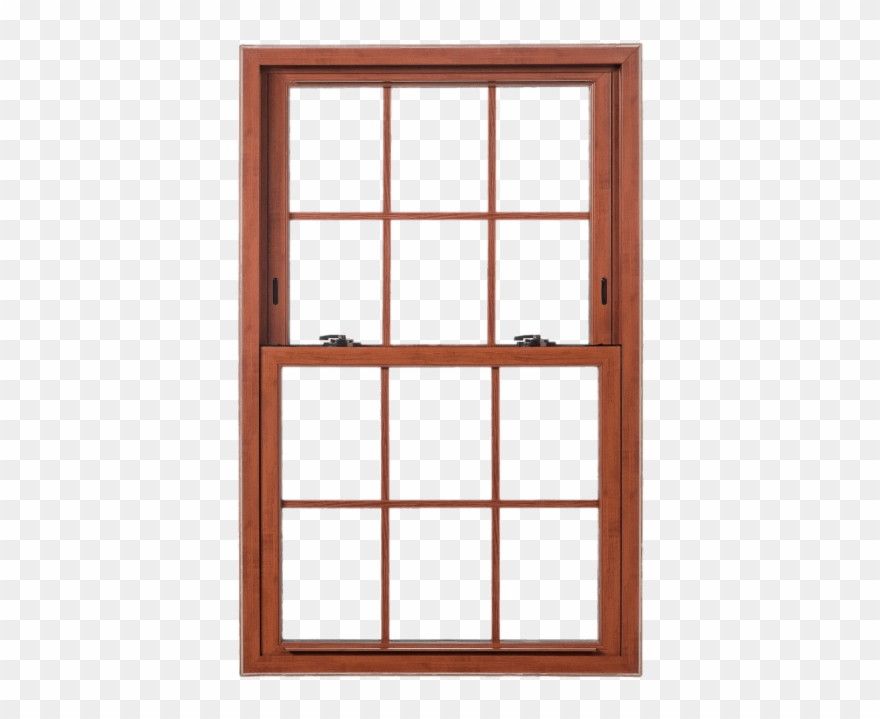 Wood window clipart vector free Free Png Download Double Hung Wooden Sash Window Png - Wood ... vector free