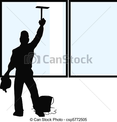 Window washing clipart clip art black and white library Window washer Vector Clipart Illustrations. 1,217 Window washer ... clip art black and white library