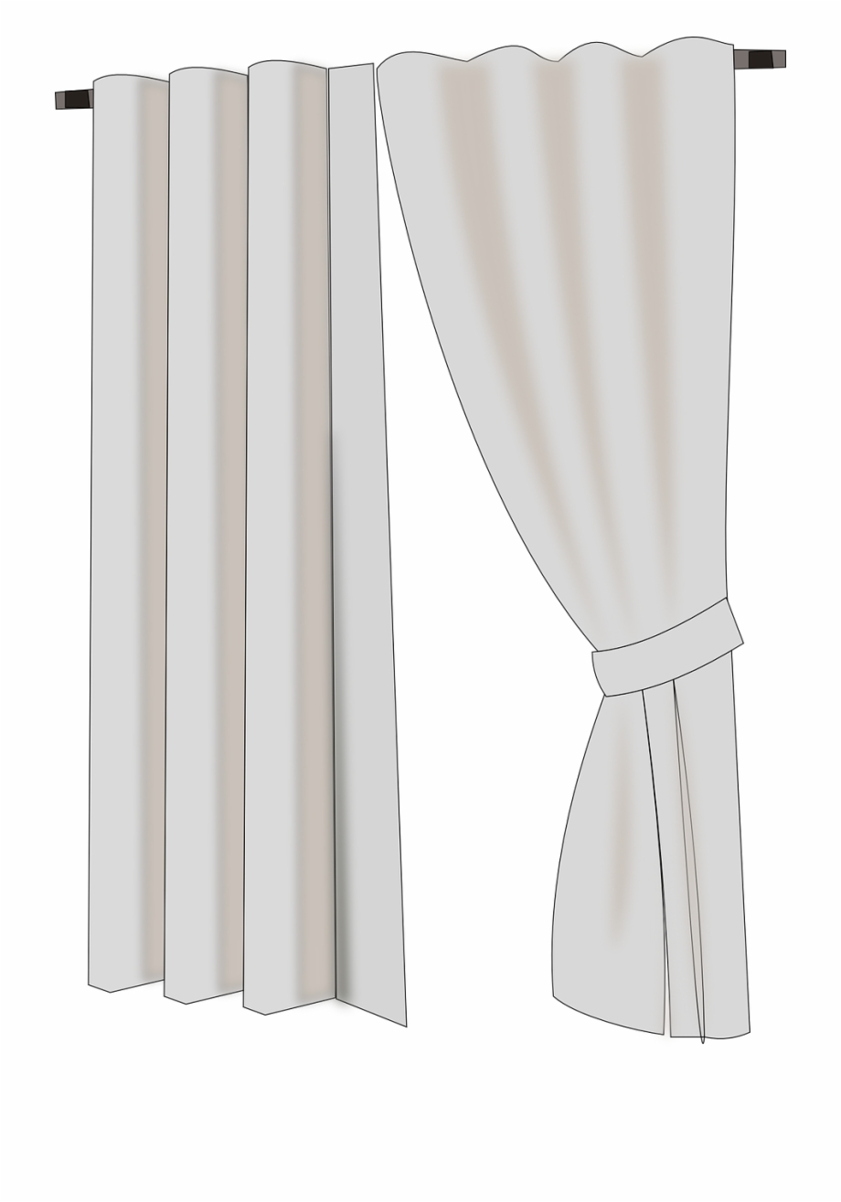 Window with drapes clipart picture freeuse library Curtains Cloth Pleated Fabric Png Image - Brown Curtains ... picture freeuse library