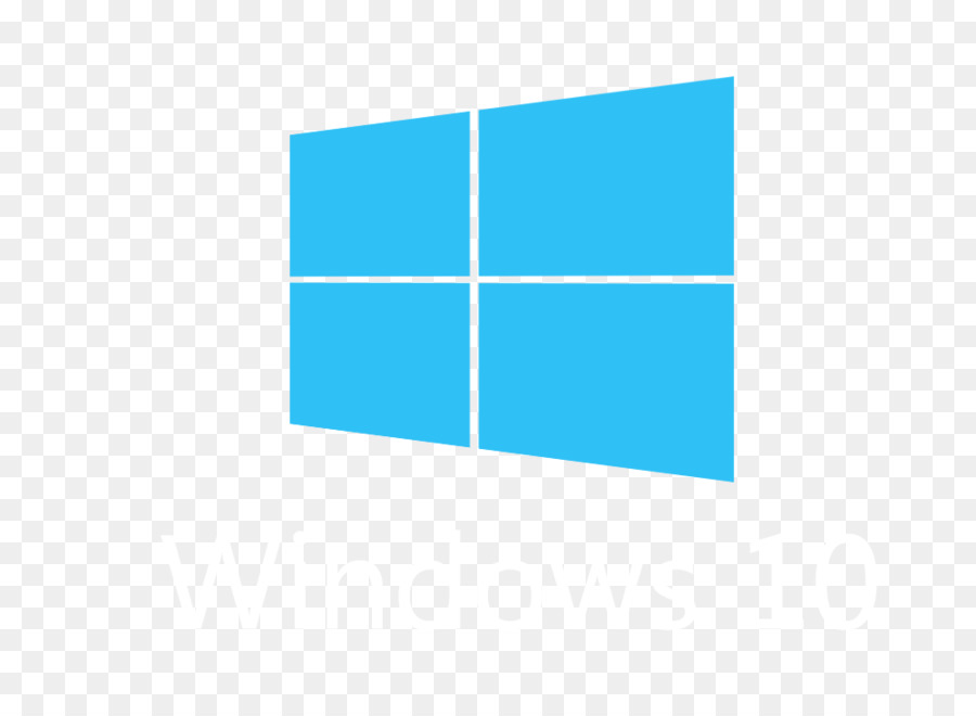 Windows 10 clipart banner royalty free download Windows 10 Logo clipart - Blue, Text, Line, transparent clip art banner royalty free download