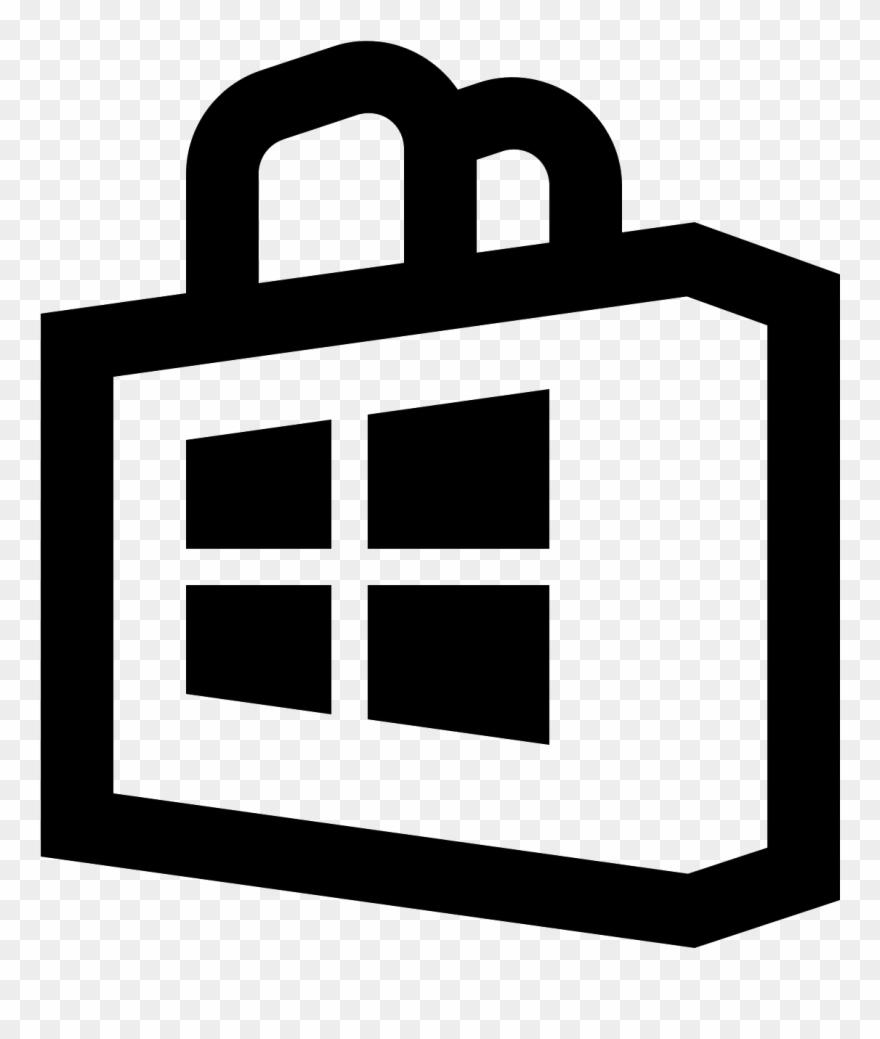 Windows 10 logo clipart white picture transparent download Windows - Windows 10 Microsoft Store Icon Clipart (#82795 ... picture transparent download