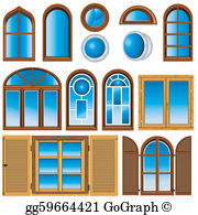Windows in a row clipart png freeuse stock Windows Clip Art - Royalty Free - GoGraph png freeuse stock