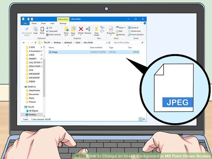 Windows paint clipart picture transparent stock How to Change an Image Background in MS Paint (Green Screen) picture transparent stock