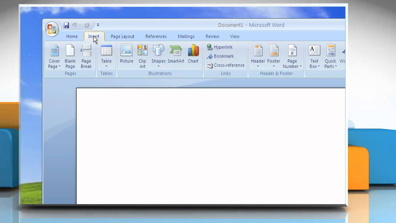 Windows xp clipart clip library library Microsoft® Word 2007: How to insert a clipart in Windows® XP clip library library