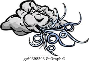 Windstorm clipart clip stock Wind Storm Clip Art - Royalty Free - GoGraph clip stock