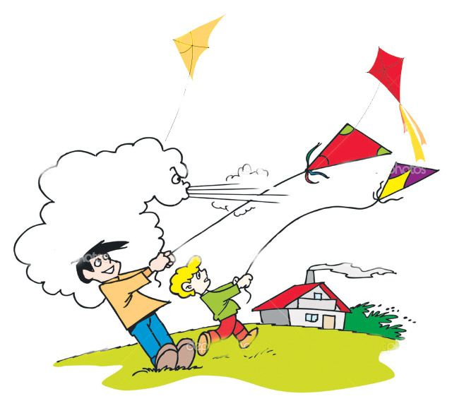 Windy funny clipart picture freeuse stock Wind clipart windy day #10   Background in 2019   Kite ... picture freeuse stock