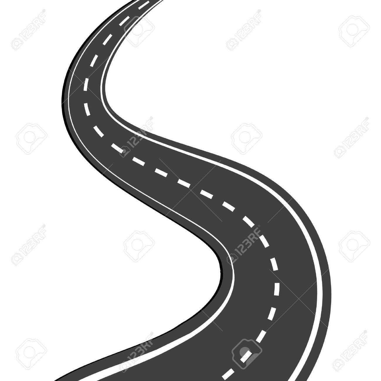 Windy road clipart no background royalty free library Winding Road Drawing | Free download best Winding Road ... royalty free library
