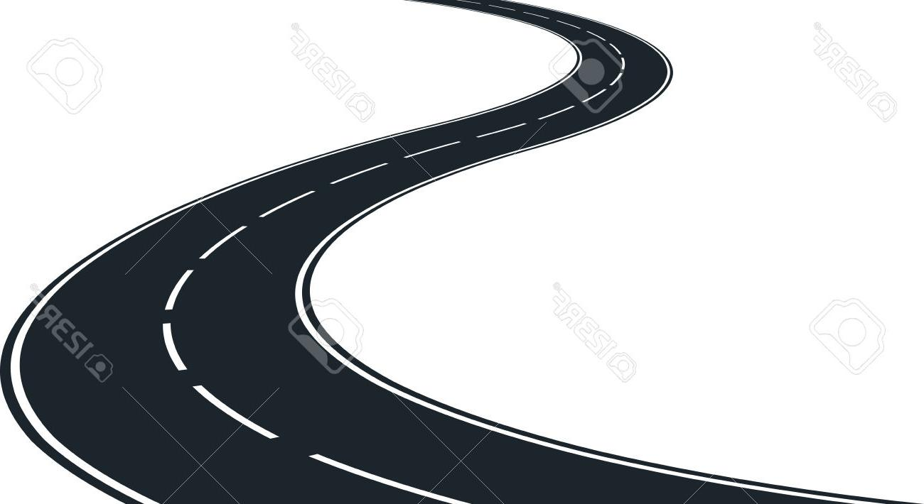 Windy road overhead view clipart vector royalty free stock Winding Road Clipart | Free download best Winding Road ... vector royalty free stock
