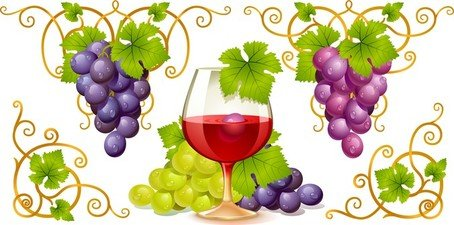 Wine and grapes clipart picture free Free Grape And Wines Clipart and Vector Graphics - Clipart.me picture free
