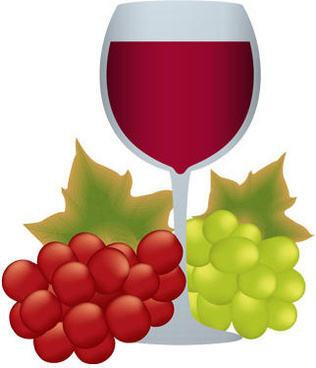 Wine and grapes clipart clipart library Grape wine clip art free vector download (220,249 Free ... clipart library