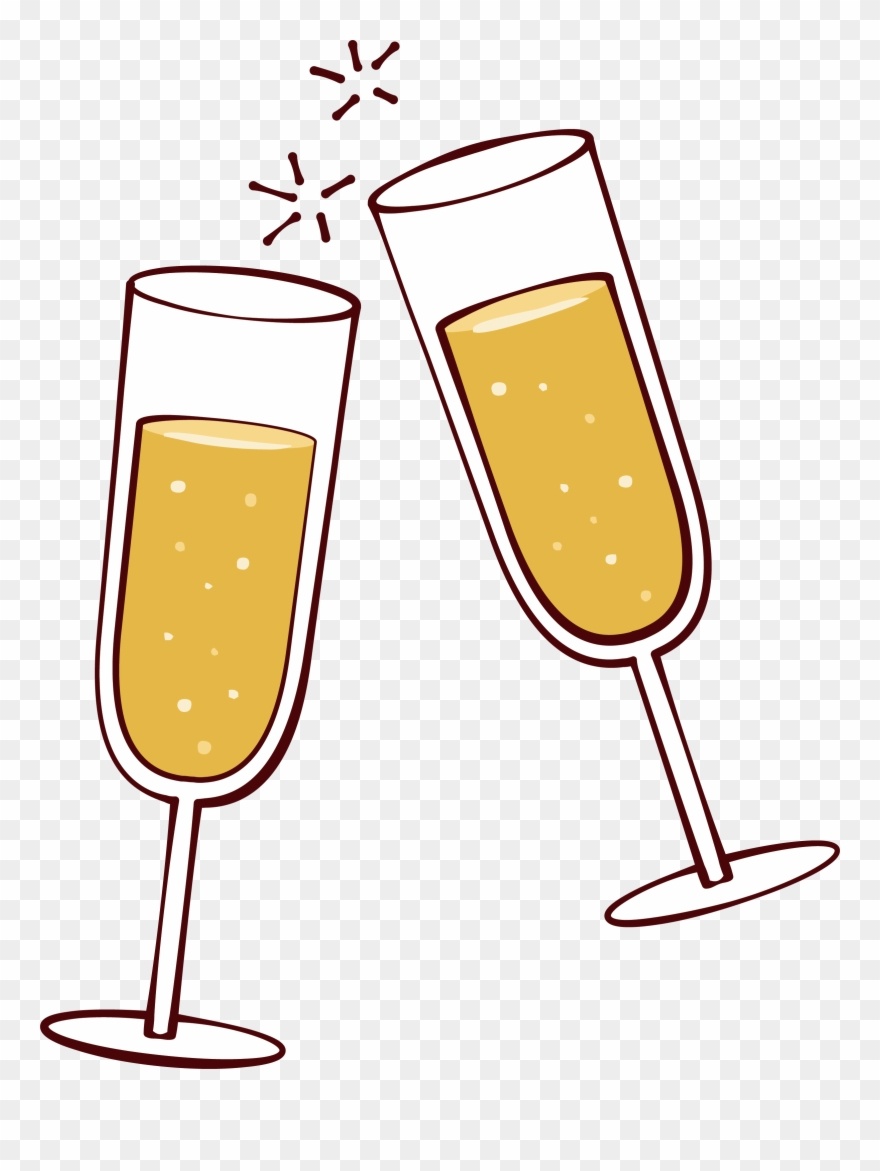 Wine beer glass clipart banner transparent Picture Freeuse Library Champaign Clipart Cheer - Wine Glass ... banner transparent
