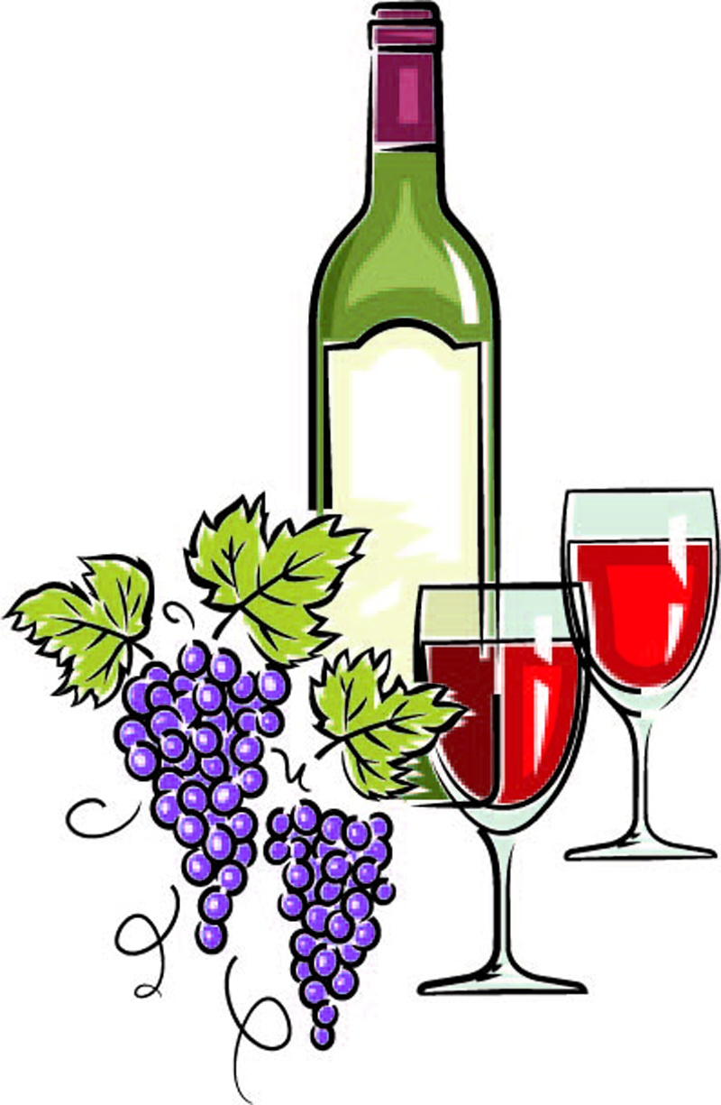Wine bottle and glass clipart jpg royalty free download Wine Bottle And Glass Cliparts - Free Clipart jpg royalty free download