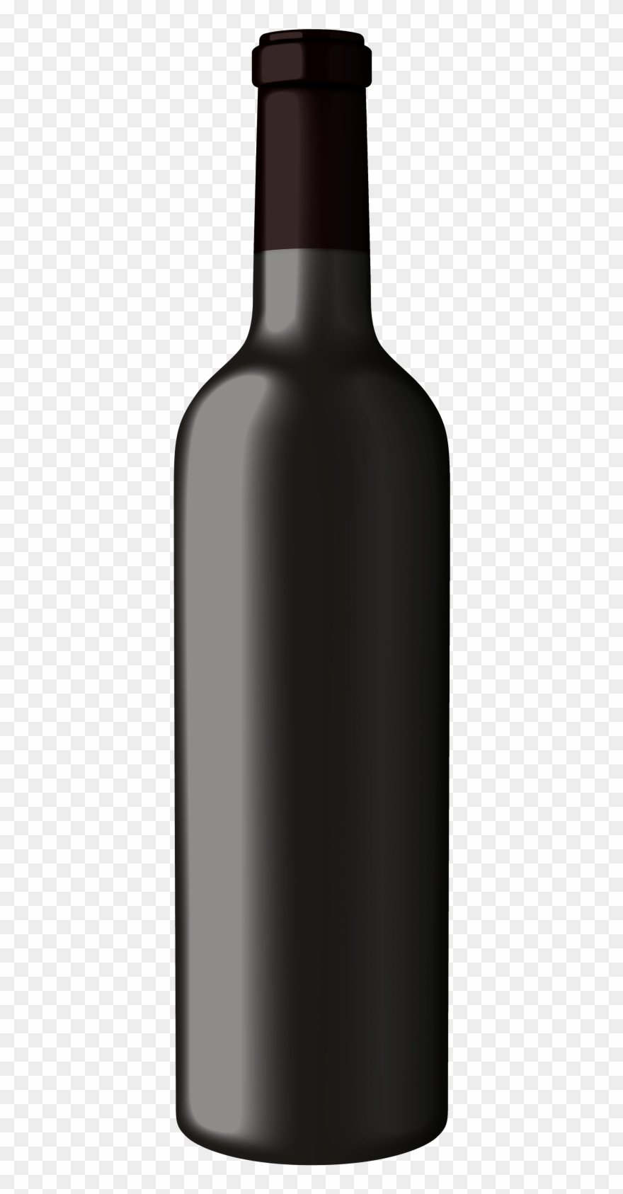 Wine bottle clipart black image free library Enter Online Store - Black Wine Bottle Clipart - Png ... image free library
