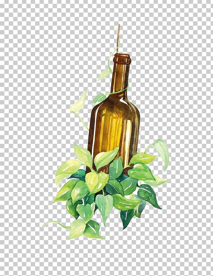 Wine bottle clipart watercolor clip art transparent library Wine Bottle Watercolor Painting PNG, Clipart, Alcohol Bottle ... clip art transparent library