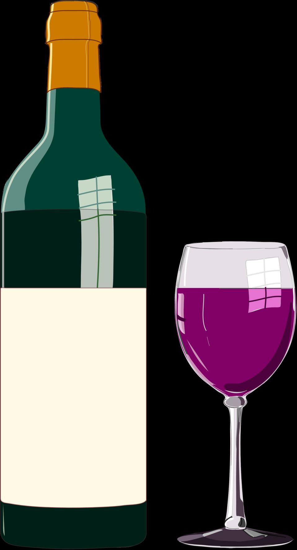 Wine glass 60 clipart clip download Public Domain Clip Art Image | Wine bottle and glass | ID ... clip download