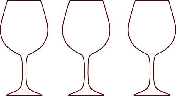 Wine glass clipart outline jpg free Wine glass wine bottle outline clipart kid - Cliparting.com jpg free