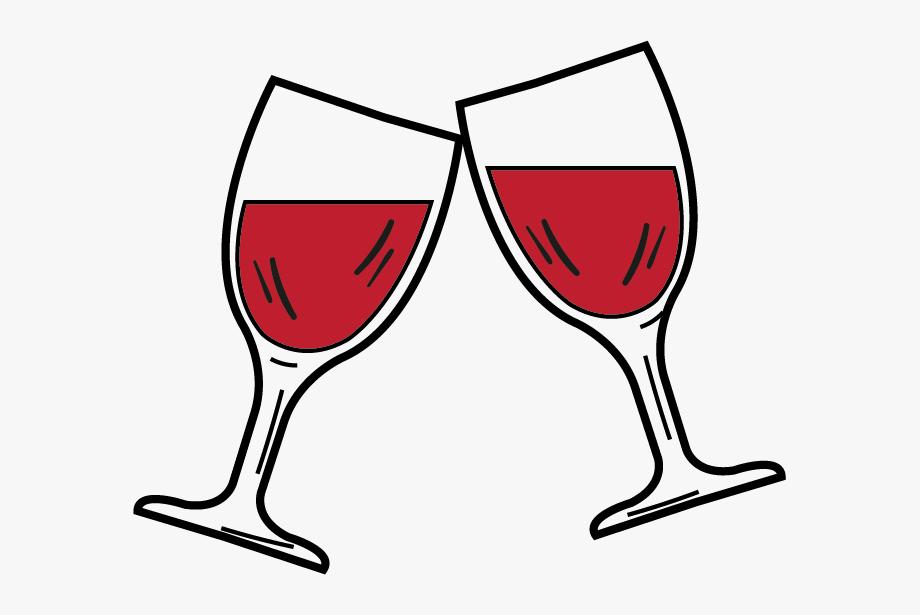 Wine glass pictures clipart vector transparent download Drinks Clipart Wine Glass - Copas De Vino Dibujo #48587 ... vector transparent download