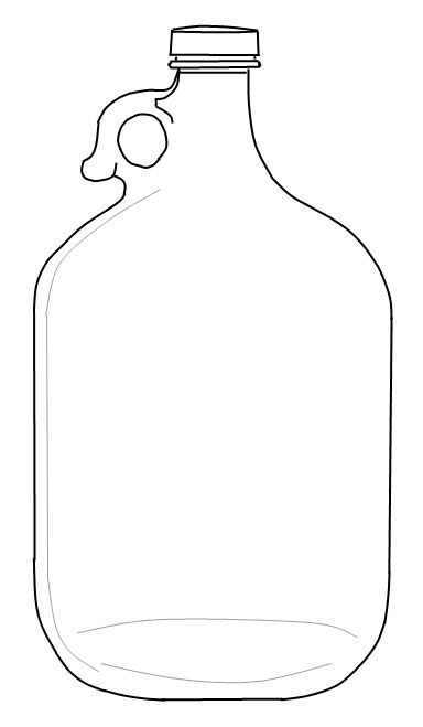 Wine jug clipart picture black and white download Sweetly Scrapped: Sunday! Weekly Roundup, Pinterest Projects ... picture black and white download