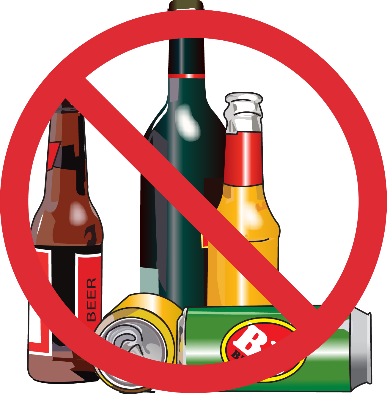 No drinking clipart picture free library No wine sign clipart - Clip Art Library picture free library