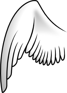 Wing image clipart clipart download Wing Clip Art at Clker.com - vector clip art online, royalty ... clipart download