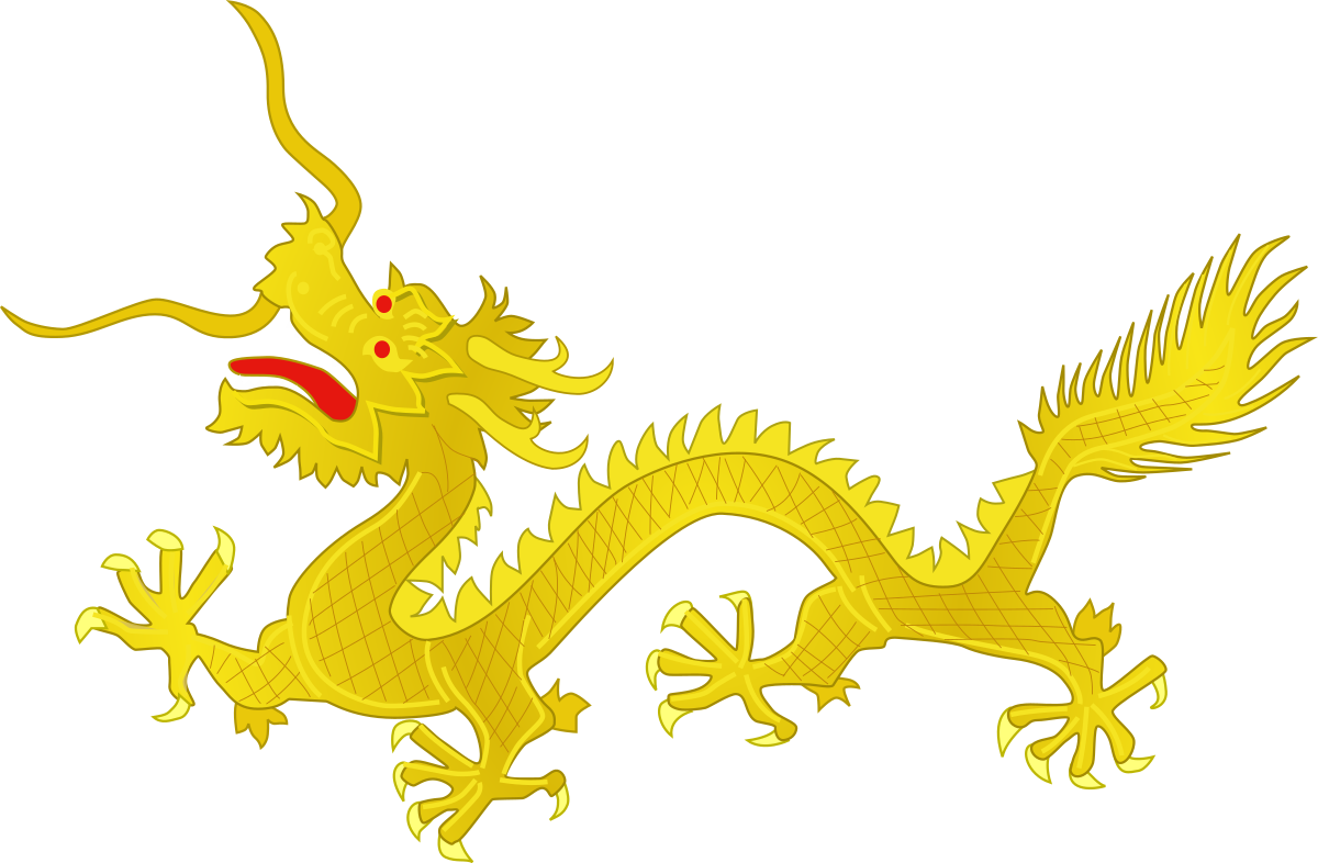 Winged horned lion clipart image library library Chinese dragon - Wikipedia image library library
