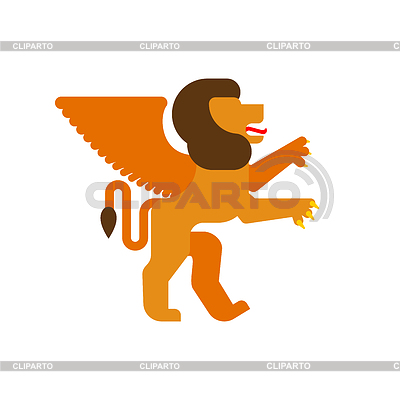 Winged lion clipart sit clipart free stock Heraldic lion | Stock Photos and Vektor EPS Clipart ... clipart free stock