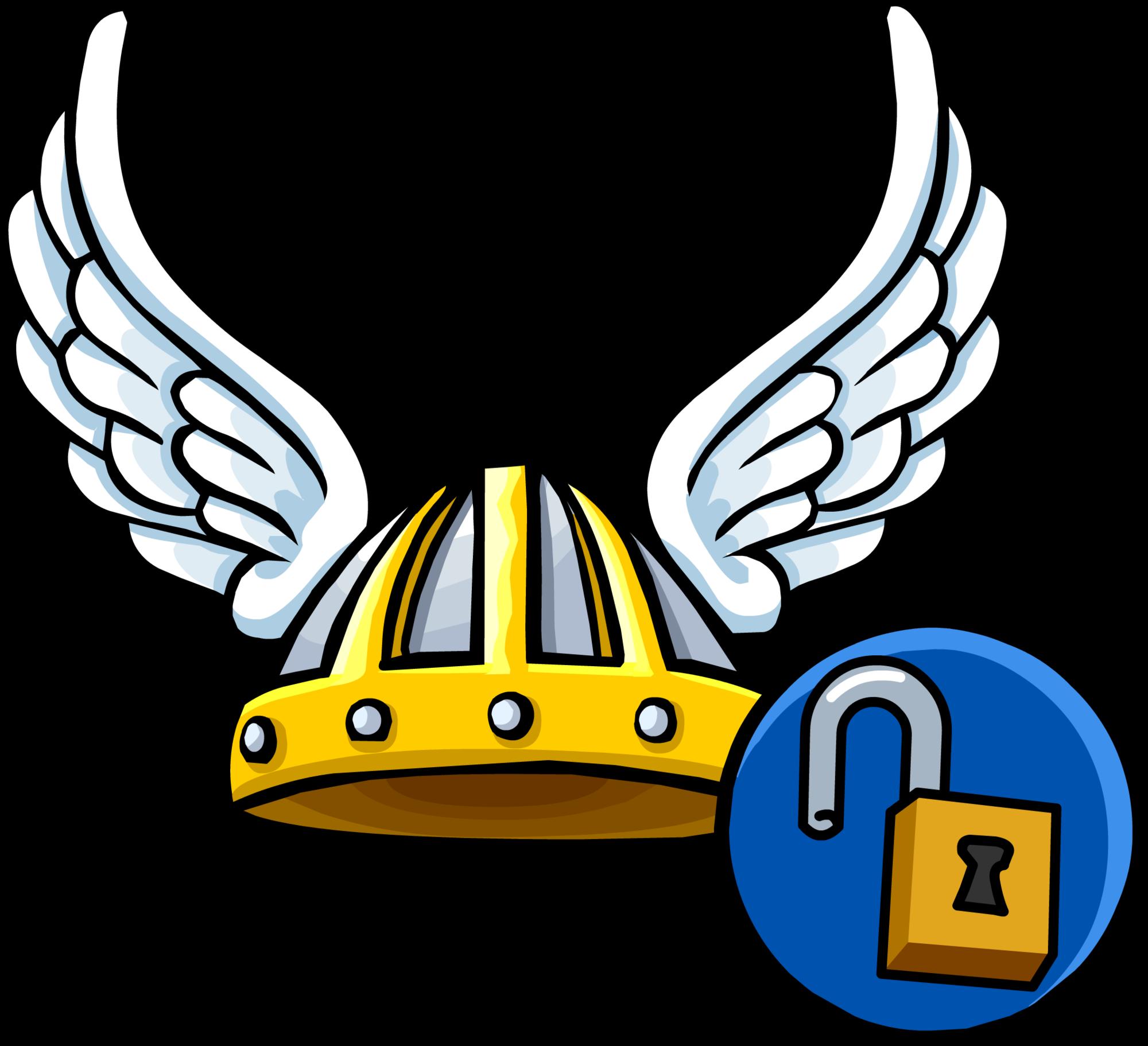 Winged viking helmet clipart png royalty free download Winged Viking Helmet   Club Penguin Online Wiki   FANDOM ... png royalty free download