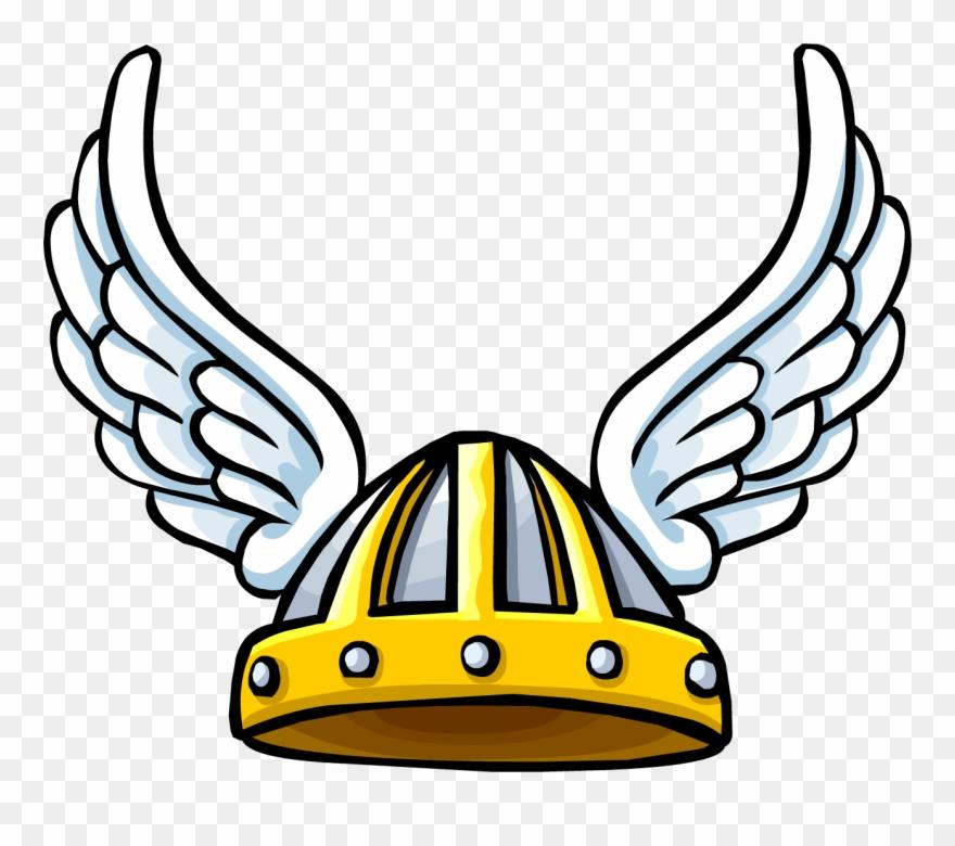 Winged viking helmet clipart jpg free Clipart Viking Hat - Club Penguin Winged Helmet - Png ... jpg free