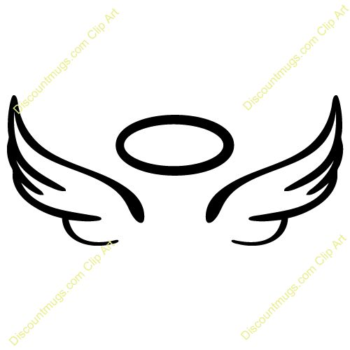 Wings angel clipart clipart black and white library Free Clipart Angels | Free download best Free Clipart Angels ... clipart black and white library