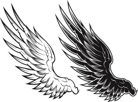 Wings black clipart free download Free Black And White Vector Wings Black And White Vector ... free download