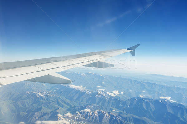 Wings clipart 220 021 stock airplance black and white library Airplane window Stock Photos, Stock Images and Vectors (Page ... black and white library