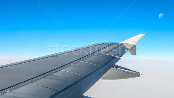 Wings clipart 220 021 stock airplance svg transparent library Airplane window Stock Photos, Stock Images and Vectors (Page ... svg transparent library