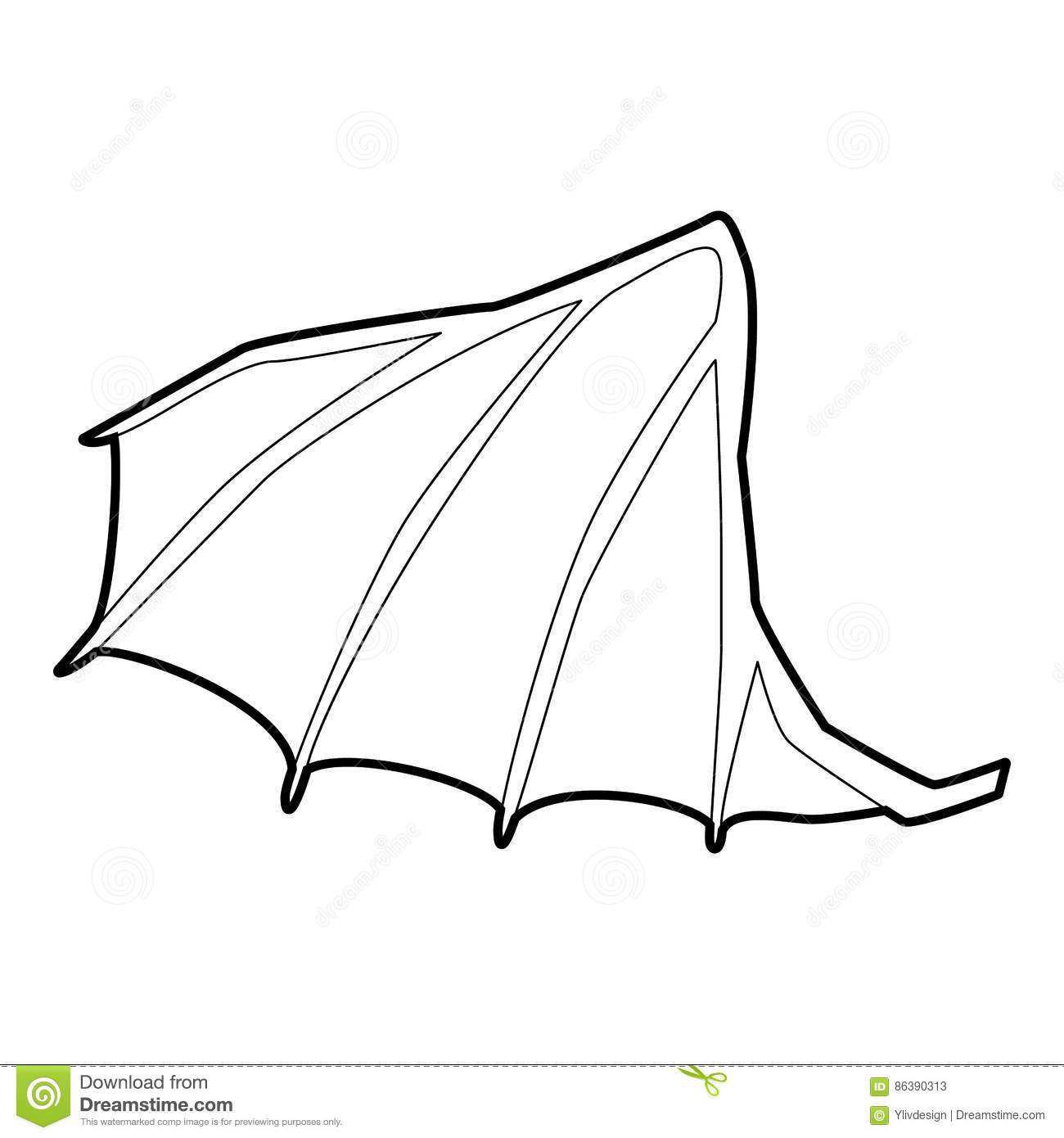 Wings clipart 220 svg black and white stock Dragon Wings Clipart (98+ images in Collection) Page 1 svg black and white stock