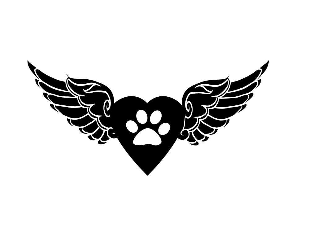 Wings tattoos clipart paw print clipart library stock angel wings with paw print - Google Search | Tattoo | Cat ... clipart library stock