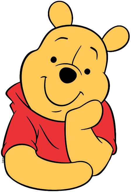 Winnie the pooh clipart face graphic freeuse download Winnie the Pooh Clip Art | Disney Clip Art Galore graphic freeuse download