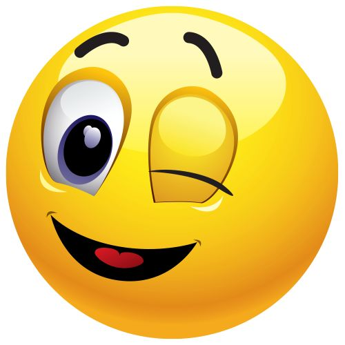 Wink emoticon clipart picture freeuse download Smiley Face Wink | Free download best Smiley Face Wink on ... picture freeuse download