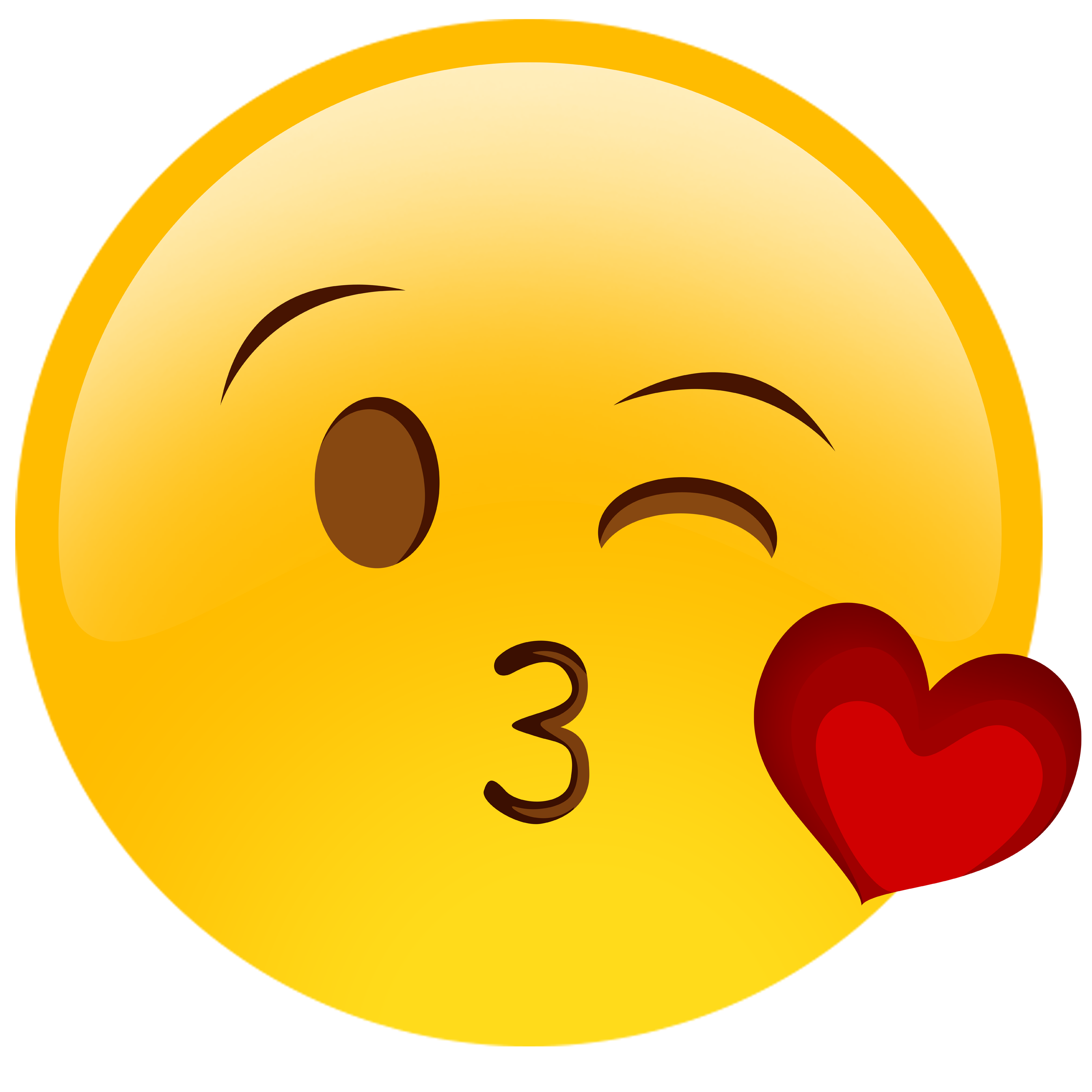 Wink emoji clipart jpg freeuse library Face with Tears of Joy emoji Kiss Wink Smiley - faces png ... jpg freeuse library