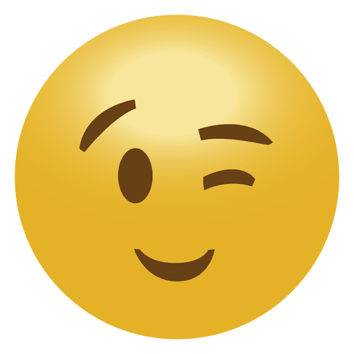 Wink emoji clipart png black and white library Wink Emoji Png Vector, Clipart, PSD - peoplepng.com png black and white library
