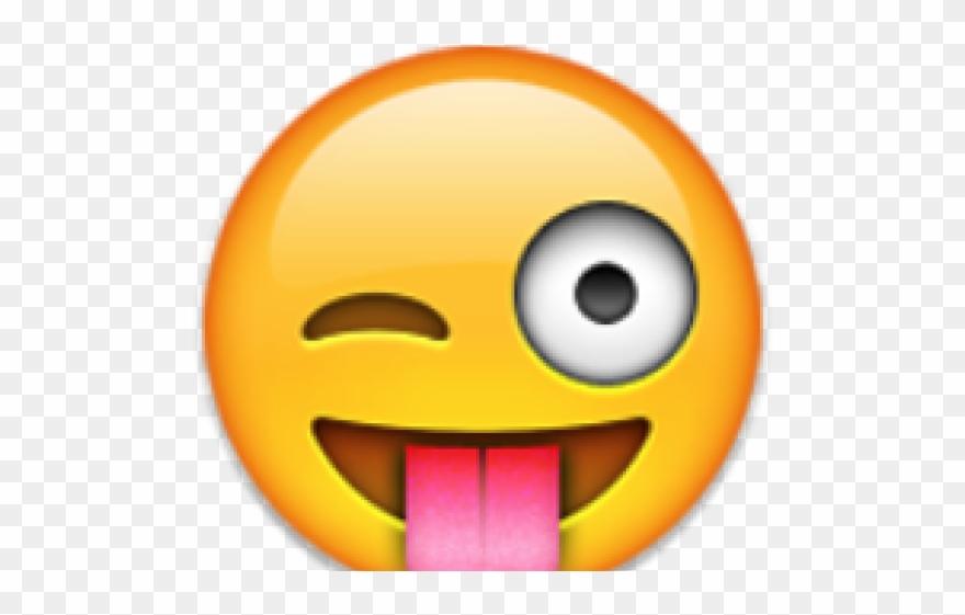 Wink emoji clipart png royalty free Emoji Face Clipart Wink - Png Download (#2916390) - PinClipart png royalty free