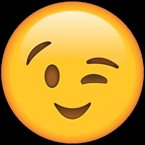 Wink emoticon clipart graphic black and white Wink Emoji | Emoji | Emoji clipart, Emoji, Naughty emoji graphic black and white