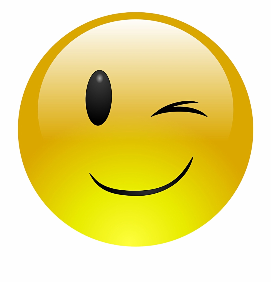 Library Of Wink Emoticon Jpg Transparent Png Files Clipart
