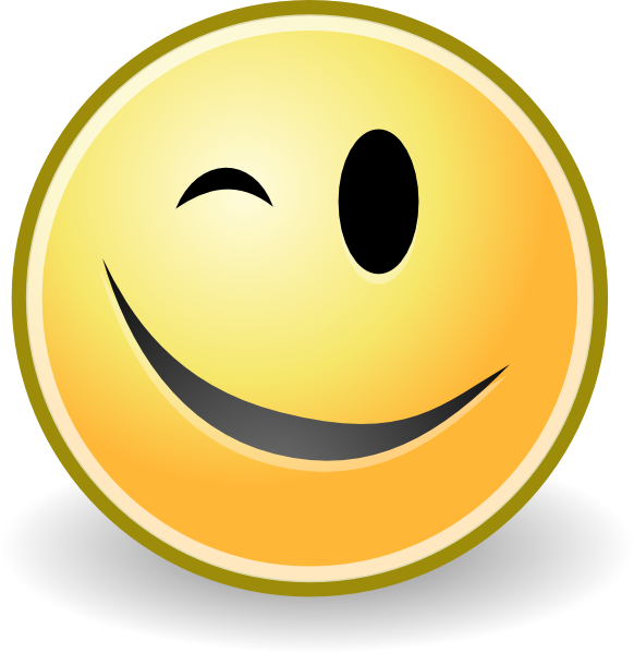 Wink emoticon clipart graphic library library Free Wink Smiley Face, Download Free Clip Art, Free Clip Art ... graphic library library