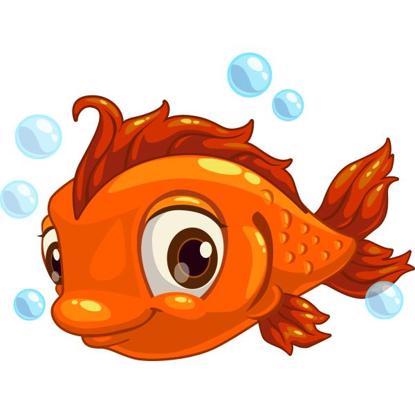Winking fish clipart svg royalty free Adorable Fish | Animal Icons | Cartoon fish, Fish face, Fish svg royalty free
