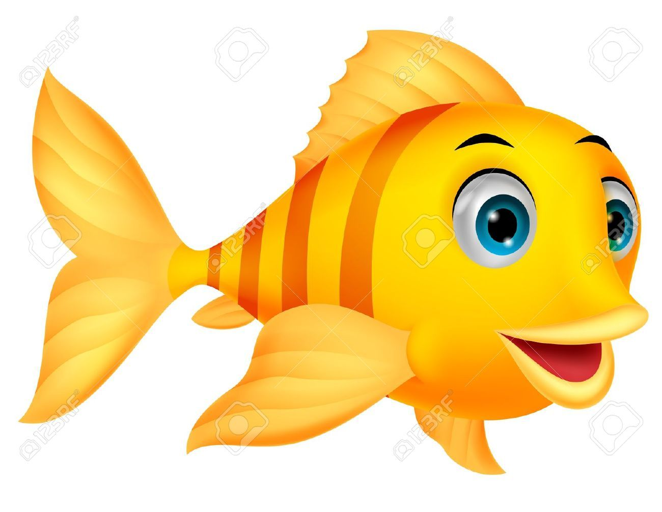 Winking fish clipart vector library download Cute fish fish and cartoon on clip art | beautiful fishys ... vector library download