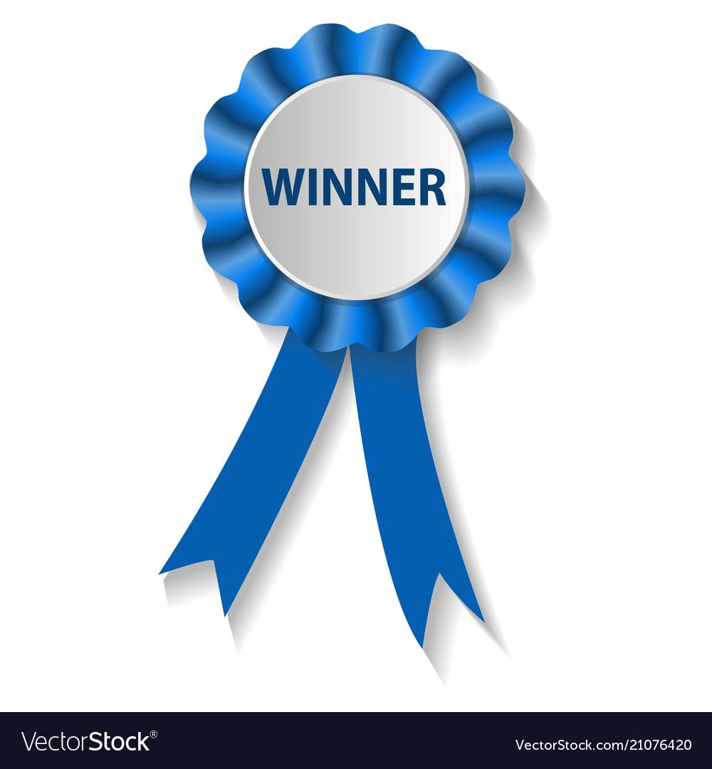 Winner background free clipart vector black and white stock Winner award medal isolated on white background vector black and white stock