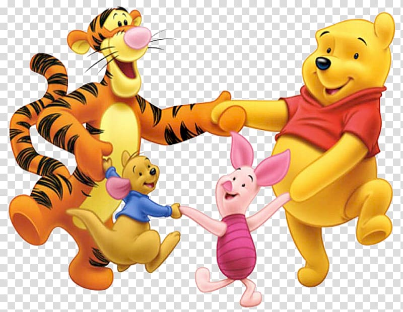 Winnie the pooh and friends clipart svg freeuse stock Winnie The Pooh and friends , Winnie-the-Pooh Piglet Tigger ... svg freeuse stock