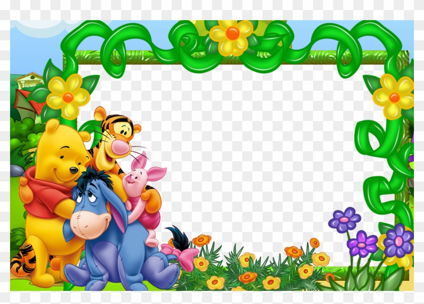 Winnie the pooh border clipart picture royalty free download Winnie The Pooh On Balloons Wallpaper Border - 18 Winnie The ... picture royalty free download
