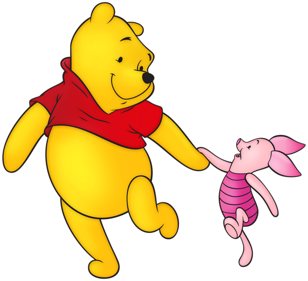 Winnie the pooh christmas clipart jpg Winnie the Pooh and Piglet Free PNG Clip Art Image | Gallery ... jpg