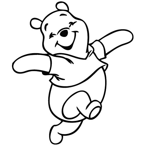 Winnie the pooh clipart black and white graphic download Winnie The Pooh Clipart Black And White (89+ images in ... graphic download