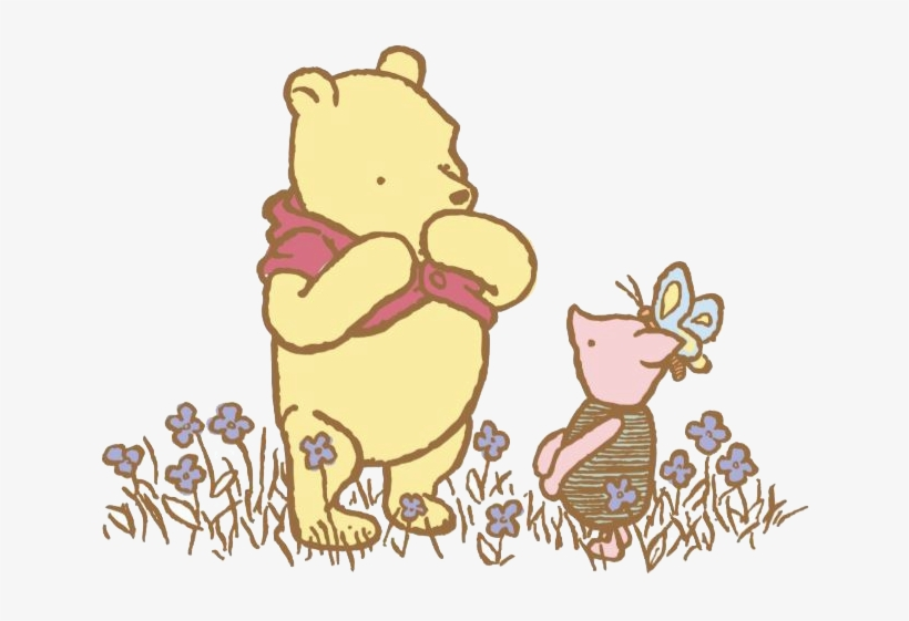 Winnie the pooh clipart classic image royalty free download As I Am Not Finding - Classic Winnie The Pooh Clip Art ... image royalty free download